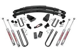 "FORD - 1980-1998 Ford F250, F350 - Rough Country - Rough Country 4"" Suspension Lift Kit for Ford 82-85 F350 - 491-82-85.20"