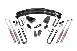 "1980-1998 Ford F250, F350 - Rough Country - Rough Country - Rough Country 4"" Suspension Lift Kit for Ford 80-86 F250 - 490-80-86.20"
