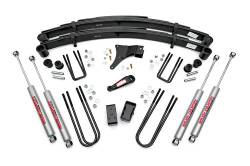 "FORD - 1980-1998 Ford F250, F350 - Rough Country - Rough Country 4"" Suspension Lift Kit for Ford 86-98 F350 - 491-86-98.20"