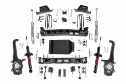 "2004-2015 Nissan Titan - Rough Country - Rough Country - Rough Country 6"" Suspension Lift Kit for 2004-2015 Nissan Titan  - 875.20-875.23"