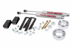 "2005-17 Toyota Tacoma - Rough Country - Rough Country - Rough Country 3"" Suspension Lift Kit for 05-18 Toyota Tacoma / PreRunner - 745N2"