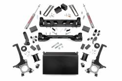 "TOYOTA - 2007-14 Toyota Tundra - Rough Country - Rough Country 6"" Suspension Lift Kit for 07-15 Toyota Tundra - 75420-75620"