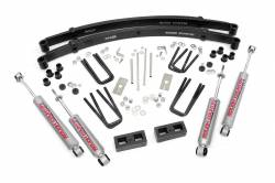 "Toyota Pickup & 4Runner - Rough Country - Rough Country - Rough Country 3"" Suspension Lift Kit for 79-83 Toyota Pickup - 700.20"