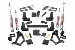 "Toyota Pickup & 4Runner - Rough Country - Rough Country - Rough Country 4-5"" Suspension Lift Kit for 89-96 Toyota IFS Standard Cab Pickup - 734.20"
