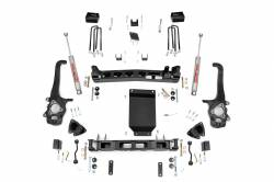 2004-2015 Nissan Titan - Rough Country - Rough Country 4IN SUSPENSION LIFT KIT (04-15 NISSAN TITAN) - 874.20