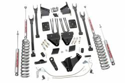 2005-16 Ford F250, F350 Super Duty - Rough Country - Rough Country - Rough Country 6IN FORD 4-LINK SUSPENSION LIFT KIT (15-16 F-250 4WD | DIESEL) - 527.20-589.20