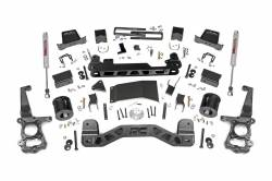 2009-16 Ford F150 - ROUGH COUNTRY - Rough Country - Rough Country 6IN FORD SUSPENSION LIFT KIT (15-18 F-150 4WD) *Select Shocks* - 557.22, 55723, 55750