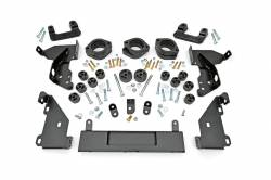 "Rough Country - Body Lifts - Rough Country - Rough Country 3.25"" GM COMBO LIFT KIT 14-15 1500 Pickup - 212-213"