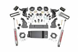 "Rough Country - Body Lifts - Rough Country 4.75"" GM COMBO LIFT KIT 14-15 1500 PU 4WD - 293.20"