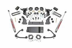 "Rough Country - Body Lifts - Rough Country - Rough Country 4.75"" GM COMBO LIFT KIT W/UPPER CONTROL ARMS 14-16 1500 PU 4WD - 292.20-294.20"