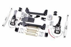 "2004-08 Ford F150 - Zone Offroad Products - Zone Offroad - Zone Offroad 4"" Suspension Lift Kit System 04-08 Ford F150 4WD - F8"