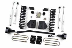 "FORD - 2005-14 Ford F250, F350 Super Duty - Zone Offroad - Zone Offroad 4"" Suspension Lift Kit System 08-10 Ford F250, F350 Super Duty 4WD - F6 / F12"