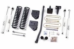 """FORD - 2005-14 Ford F250, F350 Super Duty - Zone Offroad - Zone Offroad 4"""" Suspension Lift Kit System for 05-07 Ford F250, F350 Super Duty 4WD - F5 / F13"""