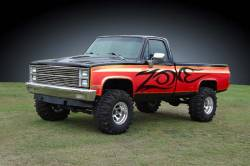 """Zone Offroad - Zone Offroad 4"""" Suspension Lift System for 73-87 Chevy / GMC 1/2 Ton Pickup / Blazer / Jimmy / Suburban 4WD - C10 / C11 - Image 2"""