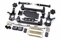 """2007-13 Chevy / GMC 1/2 Ton Pickup - Zone Offroad Products - Zone Offroad - Zone Offroad 4.5"""" IFS Suspension Lift Kit System for 07-13 Chevy / GMC 1/2 Ton Pickup Silverado / Sierra 4WD - C8"""