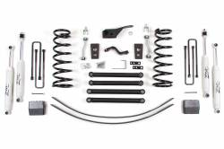 "DODGE - 2002-05 Dodge 1/2 Ton Pickup - Zone Offroad - Zone Offroad 5"" Suspension System Lift Kit for 94-01 Dodge Ram 1500 Pickup 4WD - D44 / D45"