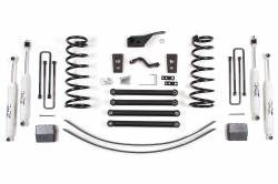 "1994-99 Dodge 1 Ton Pickup - Zone Offroad Products - Zone Offroad - Zone Offroad 5"" Suspension System Lift Kit for 94-02 Dodge 2500 / 3500 Pickup 4WD - D46 / D47"