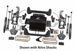 "CHEVY / GMC - 2011-17 Chevy / GMC 3/4 Ton Pickup HD - Zone Offroad - Zone Offroad 5"" IFS Lift Kit System 11-16 Chevy / GMC 2500HD / 3500HD Pickup Silverado / Sierra 2WD / 4WD - C12N / C13N"