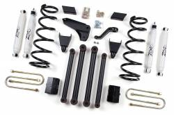 "DODGE - 2009-12 Dodge 1 Ton Pickup - Zone Offroad - Zone Offroad 5"" Suspension Lift Kit System for 10-13 Dodge Ram 2500 / 3500 Pickup 4WD - D16 / D17 / D18"