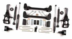 "FORD - 2009-12 Ford F150 - Zone Offroad - Zone Offroad 6"" Suspension Lift Kit System for 09-13 Ford F150 2WD - F20"