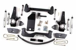 "FORD - 1997-03 Ford F150 - Zone Offroad - Zone Offroad 6"" IFS Lift Kit System for 97-03 Ford F150 4WD - F14"