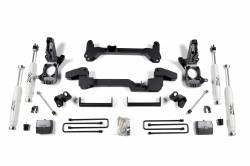 "CHEVY / GMC - 2001-10 Chevy / GMC 3/4 Ton Pickup HD - Zone Offroad - Zone Offroad 6"" IFS Suspension Lift Kit System for 01-10 Chevy / GMC 2WD - C5"