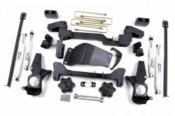 "CHEVY / GMC - 2001-06 Chevy / GMC Avalanche 2500 - Zone Offroad - Zone Offroad 6"" IFS System 01-10 Chevy / GMC 2500/3500 Pickup HD Silverado / Sierra / Avalanche 2500 & Suburban / Yukon XL 4WD - C4"