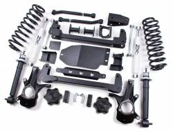 "2007-13 Chevy / GMC Avalanche - Zone Offroad Products - Zone Offroad - Zone Offroad 6"" IFS Lift Kit System with Replacement Strut for 07-14 Chevy / GMC 1500 Avalanche / Suburban / Yukon XL / Tahoe / Yukon - C6"