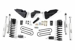 "2013-18 DODGE RAM 1 TON - ZONE OFFROAD PRODUCTS - Zone Offroad - Zone Offroad 4.5"" Suspension System 2013-17 Ram 3500 (DIESEL) - D50"