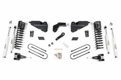 "2013-18 DODGE RAM 1 TON - ZONE OFFROAD PRODUCTS - Zone Offroad - Zone Offroad 6.5"" Suspension System 2013-2017 Ram 3500 (DIESEL) - D52"