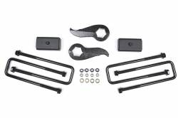 "2011-19 Chevy / GMC 1 Ton Pickup - Zone Offroad Products - Zone Offroad - Zone Offroad 2"" Lift Kit 11-19 Chevy / GMC 2500HD / 3500 - C1244/C1245"