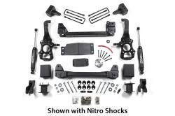 "2009-16 Ford F150 - Zone Offroad Products - Zone Offroad - Zone Offroad 4"" Suspension System 15-16 Ford F-150 4WD - F47"