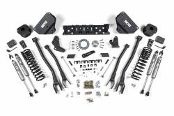 "Ram 3/4 Ton Pickup - 2014-2017 - BDS Suspension 5.5"" 4-Link Suspension System for 2014-17 Ram 2500 4WD Gas Models w/ Rear Air Ride *Gas Only* - 1630H"