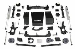 "Yukon XL 1/2 Ton 4WD - 2015-2019 - BDS Suspension - BDS Suspension 4"" Lift Kit for 15-19 Chevrolet/GMC 4WD Suburban, Tahoe, Yukon, and Yukon XL 1500 1/2 ton SUVs - 733H"