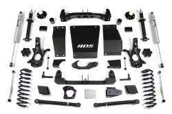 "Yukon XL 1/2 Ton 4WD - 2015-2019 - BDS Suspension - BDS Suspension 6"" Lift Kit for 15-19 Chevrolet/GMC 4WD Suburban, Tahoe, Yukon, and Yukon XL 1500 1/2 ton SUVs - 731H"