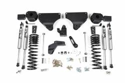 "Ram 3/4 Ton Pickup - 2014-2017 - BDS Suspension - BDS Suspension 4"" Radius Arm Drop Suspension System for 2014-17 Ram 2500 Gas 4WD w/Rear Air Ride Gas Only - 1633H"