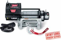 Winches & Recovery Gear - 8,000 to 16,000 lbs Electric Winches - Warn Industries - Warn VR12000 Winch 80' Wire Rope 12,000 Lb Capacity