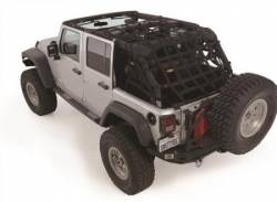 Jeep Tops & Hardware - Jeep Wrangler TJ 97-06 - Smittybilt - C-Res Cargo Restraint System 97-06 Wrangler TJ Black 2 Inch Webbing Smittybilt