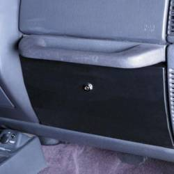 Interior Accessories - Jeep Wrangler YJ 87-95 Specific - Smittybilt - Vaulted Glove Box  87-95 Wrangler YJ Black Smittybilt