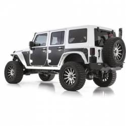 Exterior Body & Styling - Jeep Wrangler JK 07-PRESENT - Smittybilt - MAG Armor Skins 07-Pres Wrangler JK 2 DR Set of 9 Smittybilt
