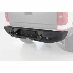 CHEVY / GMC - 2007-17 Chevy / GMC 1/2 Ton Pickup & SUV - Smittybilt - M1 Rear Bumper 14-16 Silverado 1500 Smittybilt