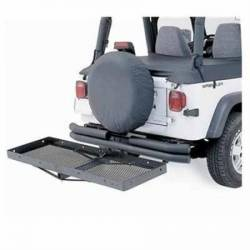 Racks & Storage - Jeep Storage Solutions - Smittybilt - Trail Rack Basket Smittybilt