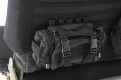 Smittybilt - GEAR Seat Covers 07, 13-18 Wrangler JK 4 DR Rear Custom Fit Black Smittybilt - Image 2