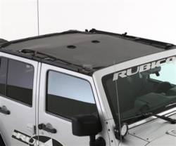 Jeep Tops & Hardware - Jeep Wrangler JK 4 Door 07+ - Smittybilt - Cloak Extended Mesh Top 07-Pres Wrangler JK 4 DR Black Smittybilt -95500