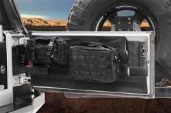 Interior Accessories - Jeep Wrangler TJ / LJ 97-06 Specific - Smittybilt - Gear Tailgate Cover 97-06 Wrangler TJ/LJ Black Smittybilt