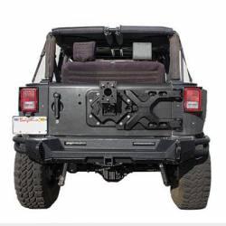 Smittybilt - Bumpers / Tire Carriers - Smittybilt - Pivot HD Tire Carrier for 07-Present Jeep Wrangler JK Smittybilt