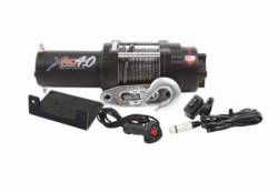 Winches & Recovery Gear - 2,000 to 6,000 lbs Electric Winches - Smittybilt - XRC 4 Comp 4,000 Lb Winch Comp Series W/Synthetic Rope Aluminum Fairlead Smittybilt