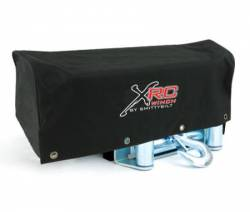 Winches & Recovery Gear - Winch Accessories - Smittybilt - Winch Cover 8-12K Lb Winch XRC Logo Black Smittybilt