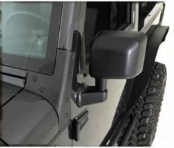 Exterior Upgrades - Jeep Wrangler JK 07-PRESENT - Smittybilt - Windshield Brackets 07-Pres Wrangler JK Black Smittybilt