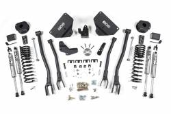 "Ram 3/4 Ton Pickup - 2014-2017 - BDS Suspension 4"" 4-Link Suspension System 